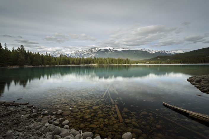 Anette Lake - Jasper - Alberta - Canadá