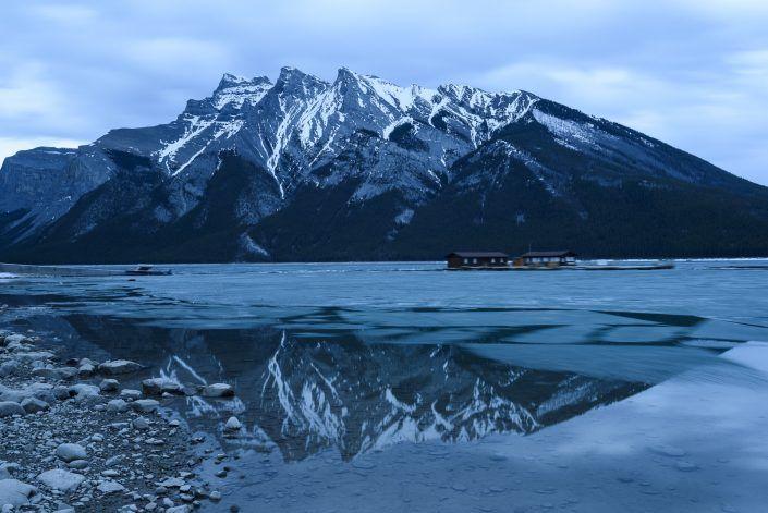 Llac Minnewanka - Banff - Alberta - Canadà