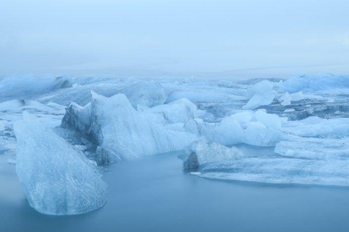 Llacuna de Jökulsárlón - Islandia