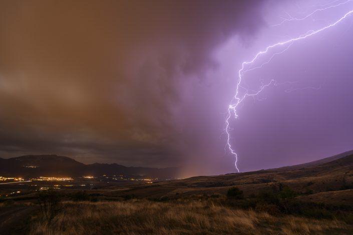 Tempesta des de Guils de Cerdanya