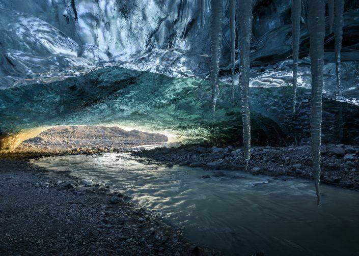 Cova de gel Sapphire - PN Vatnajökull - Islàndia