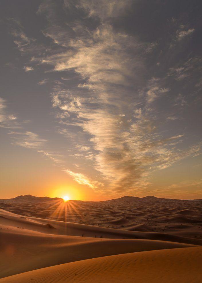 Desierto del Sahara - Merzouga, Dunas Erg Chebbi