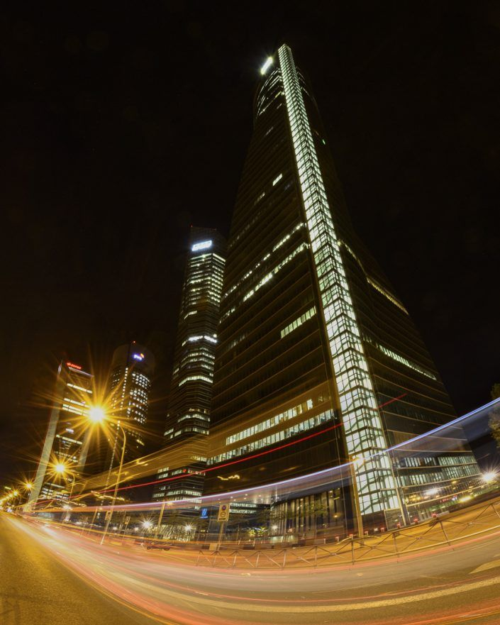 Distrito financiero de Madrid
