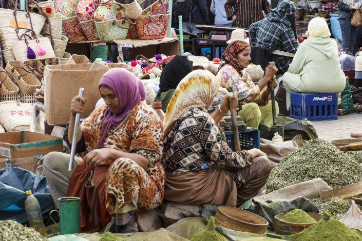 Plaza de las especias - Marrakech